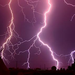 Lightning by Varunraj Reddy - Landscapes Weather ( #nature, #thunerstrom, #longexposure, #indianphotographs, #stroms,  )