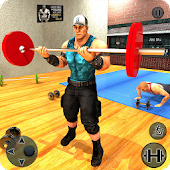 Virtual Gym 3D: World Wrestlers Fitness Workout