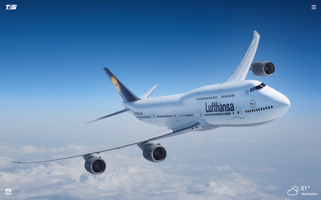 Boeing 747 HD Wallpapers New Tab Theme