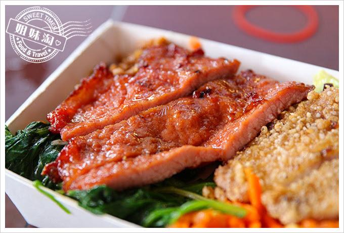 桌上賓中式快餐排骨加魚排2