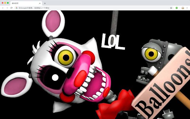 Five Nights at Freddy's New Tab HD Themes
