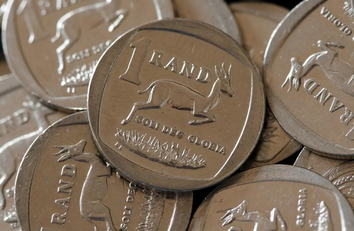 The South African rand. Picture: REUTERS
