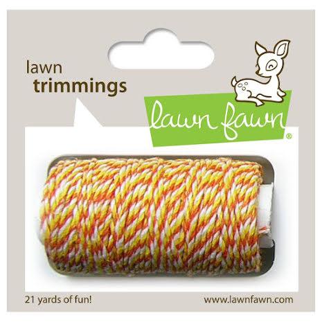Lawn Fawn Trimmings Hemp Cord 21yd - Candy Corn