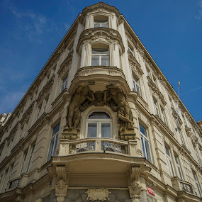 ^ by Yordan Mihov - Buildings & Architecture Architectural Detail ( building, czech, czech republic, architecture, praha, prague )