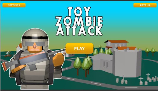 Toy Zombie Attack 0.1 APK + Mod (Free purchase) for Android