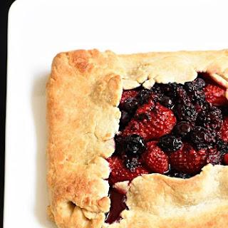 Rustic Mixed Berry Tart.