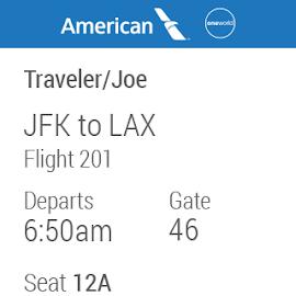 American Airlines Screenshot 8
