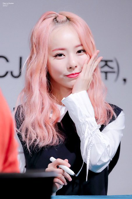 pink curly 27