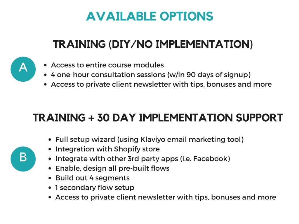 email marketing using klaviyo - automation - jenny miranda