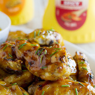 Maple Mustard Grilled Chicken Wings