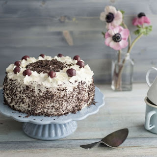 Simple Black Forest Layer Cake.