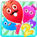 Number Counting games for kids icon