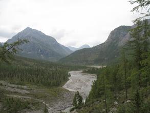 Photo: Вид на Ара-Ошей с высокого левого берега