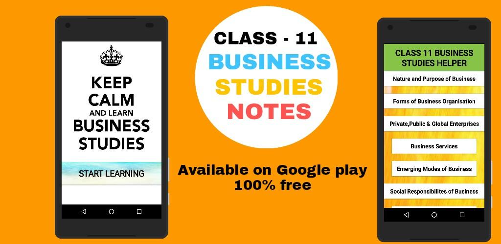 Download Class 11 Business Studies Notes And Solutions APK