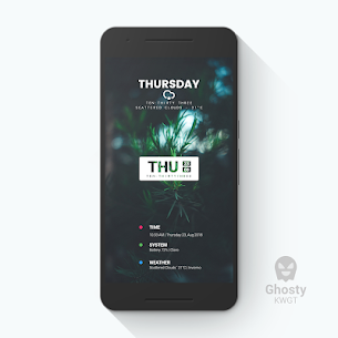 Ghosty KWGT 1.1.5 Mod APK Updated 1