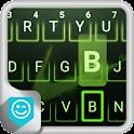 Emoji Green Neon Keyboard icon