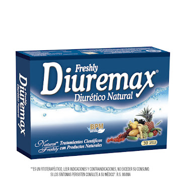 DIUREMAX DIURÉTICO   NATURAL CAJA X30CAP. NATURAL FRESHLY