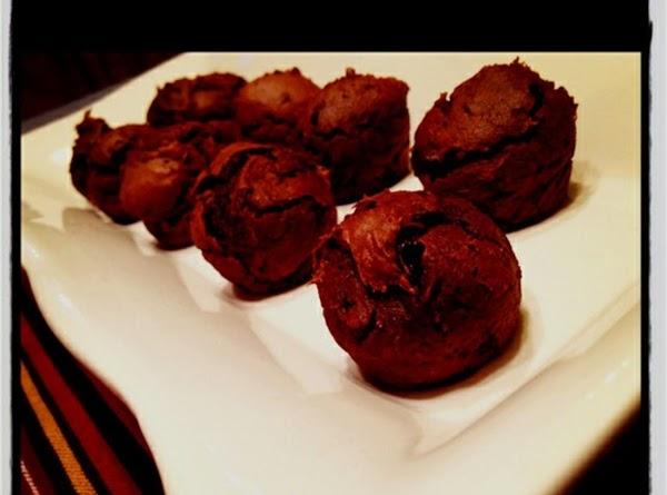 Chocolate Peanut Butter Brownie Bites! Recipe
