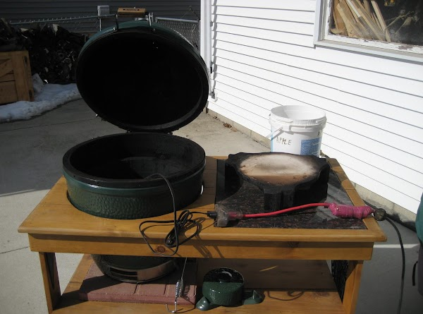 Start your grill, you want a temp of 250 - 275 and you want...