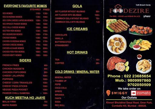 Foodezire menu 2
