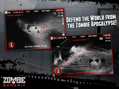 Zombie Gunship Capture d'écran