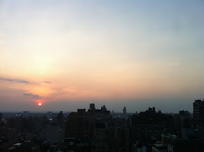 Photo: Sunset over Hudson