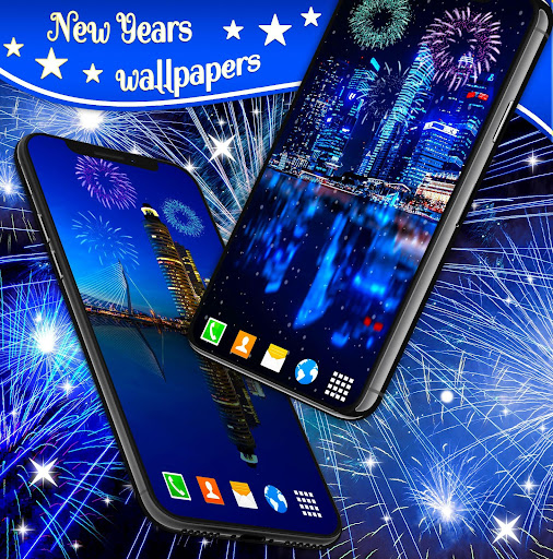 New Years 2019 Fireworks Live Wallpaper 4.8.4 screenshots 2