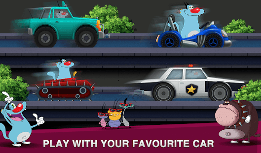 Oggy Super Speed Racing (The Official Game) Screenshot