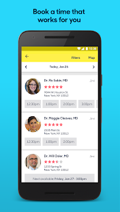 Zocdoc: Find & book a doctor Screenshot 2