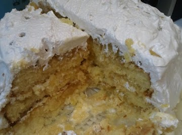 Bea's Pineapple Cake W/seven Minute Icing Recipe