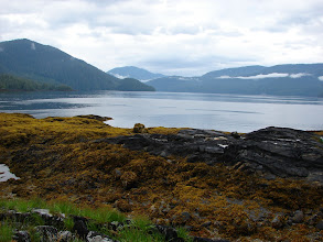 Photo: Looking northeast up Seward Passage from Change Island.