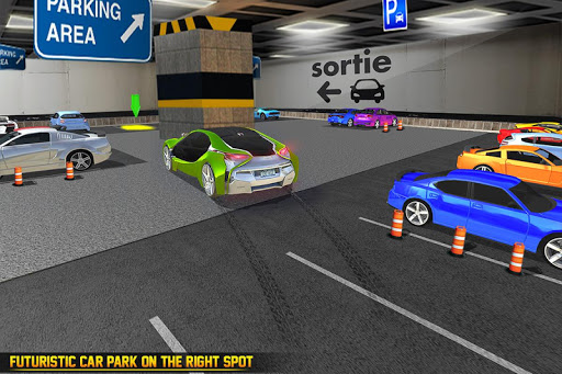 US Futuristic Car Parking: Free Parking Games  screenshots 3