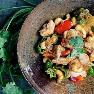 Velvet Cashew Nut Chicken.