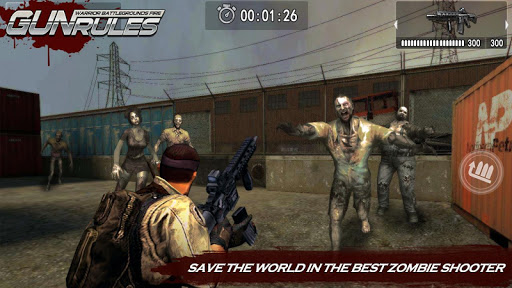 Gun Rules : Warrior Battlegrounds Fire screenshot 3