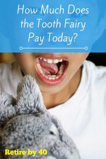 How much does the Tooth Fairy pay today?