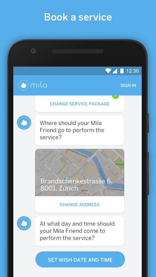 Mila- screenshot