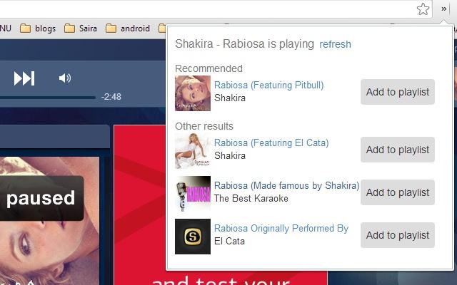 Pandora to Playlist Converter