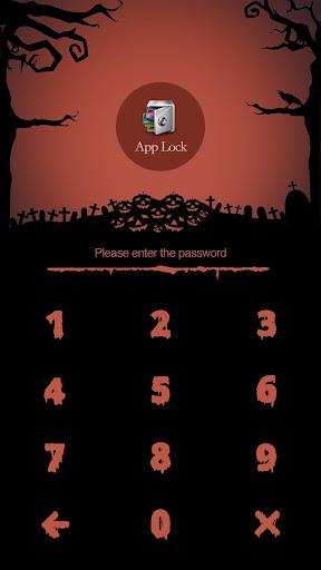 AppLock Theme Halloween