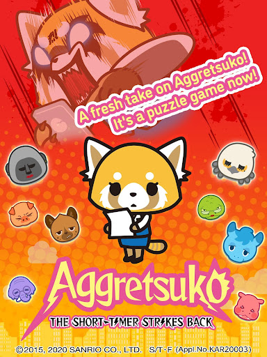 Aggretsuko : the short timer strikes back apkpoly screenshots 7