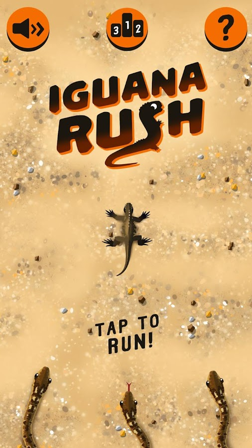 Iguana Rush- screenshot