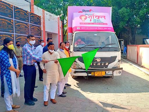 प्रभारी मंत्री, सांसद, विधायक व जिलाधिकारी ने संयुक्त रूप से प्रचार वाहन को हरी झंडी दिखाकर किया रवाना