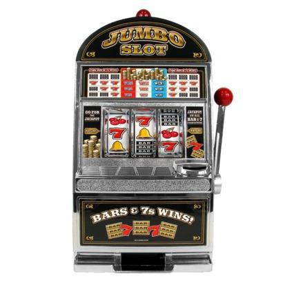 Trademark Global Jumbo Slot Machine Bank