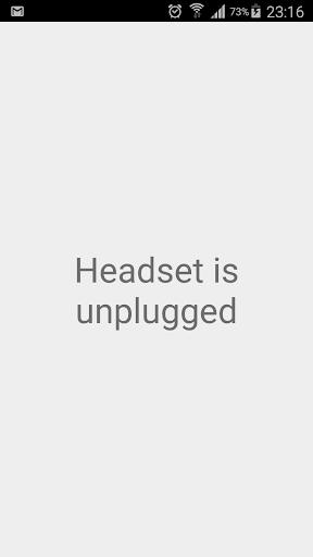 Headset is plugged|玩工具App免費|玩APPs