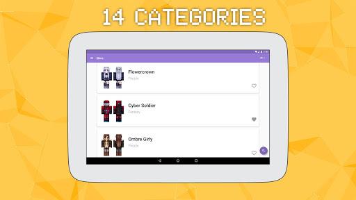 Skins for Minecraft PE 2 Screenshot