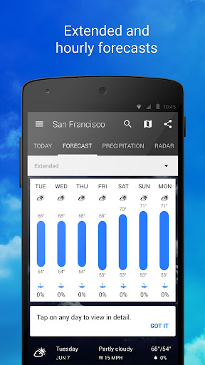 1weather pro apk paid