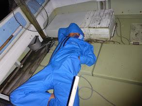 Photo: 疲れもピーク。 ・・・仮眠中。