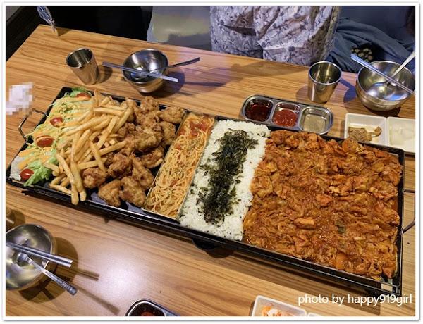 高雄 I'm Kimchi。近瑞豐夜市/超吸睛75公分韓式料理拼盤