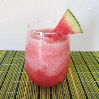 Watermelon Vodka Slush.