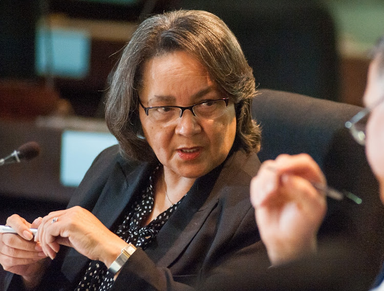 Cape Town mayor Patricia de Lille. File photo. Image: SUNDAY TIMES