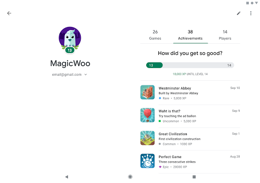 Google Play Games screenshot 11